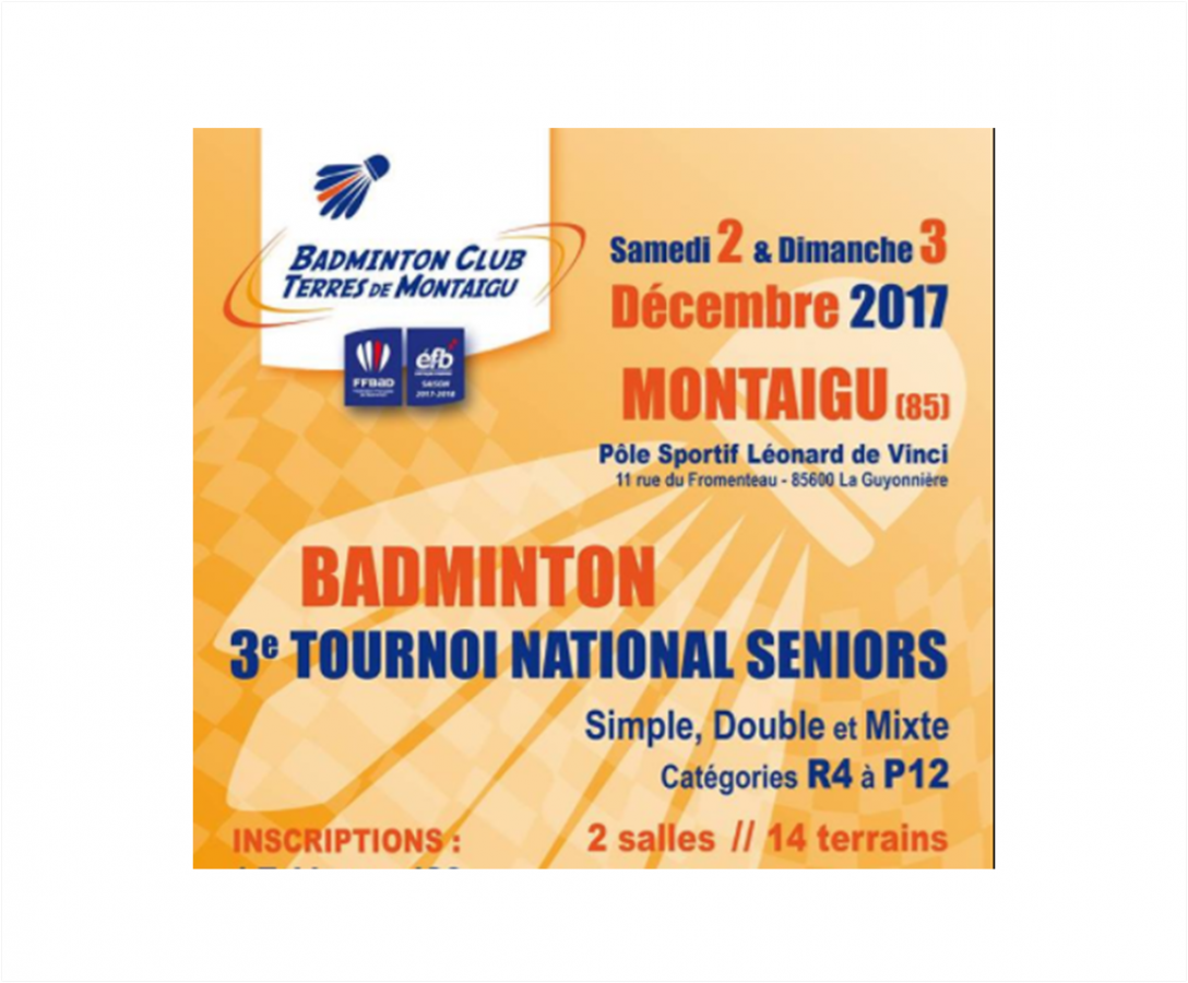 3e Tournoi National Séniors du BCTM