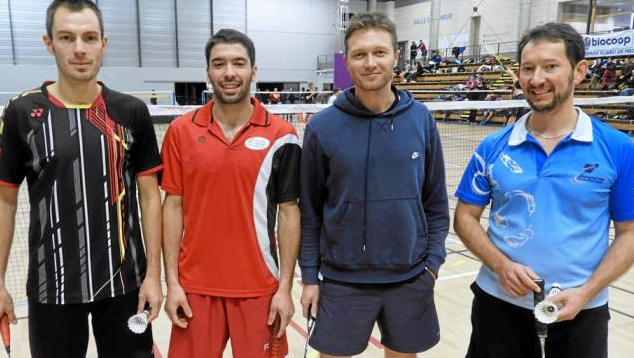 Article OUEST FRANCE : Forte participation au tournoi de badminton