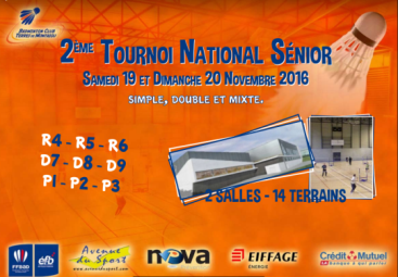 Tournoi National Sénior Montaigu
