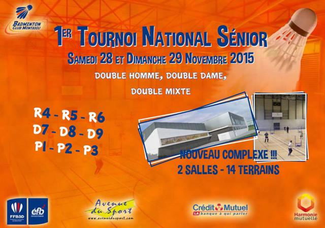 Tournoi National Sénior BCM