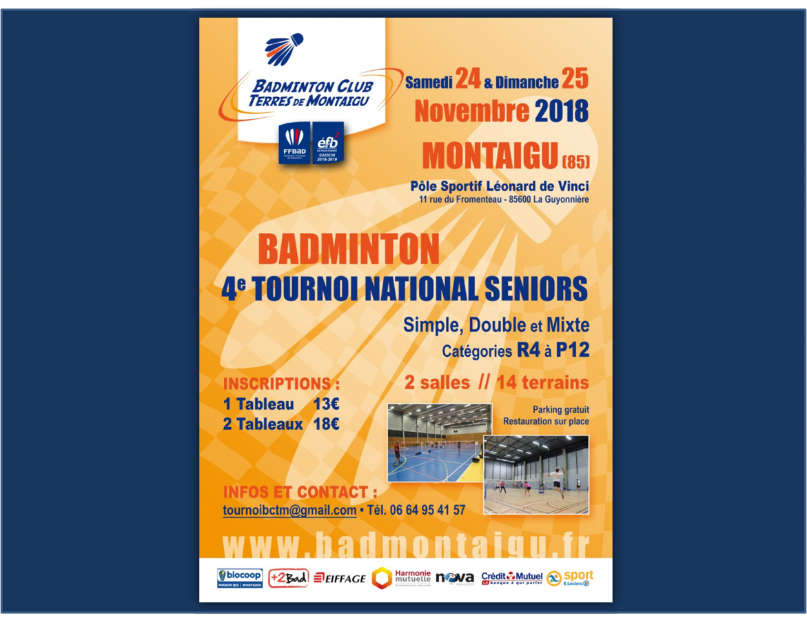 4e Tournoi National Séniors du BCTM
