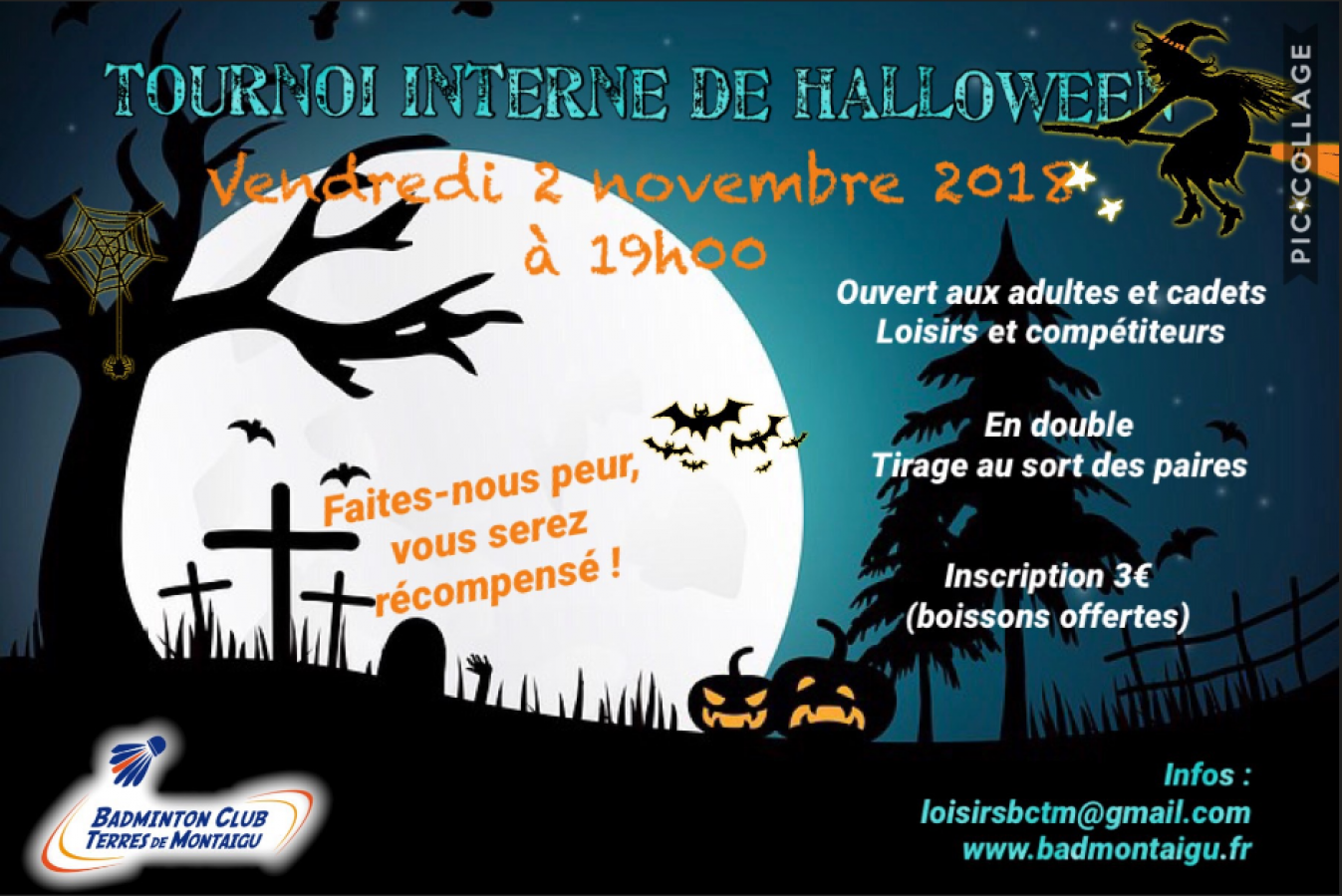 Tournoi interne d'Halloween