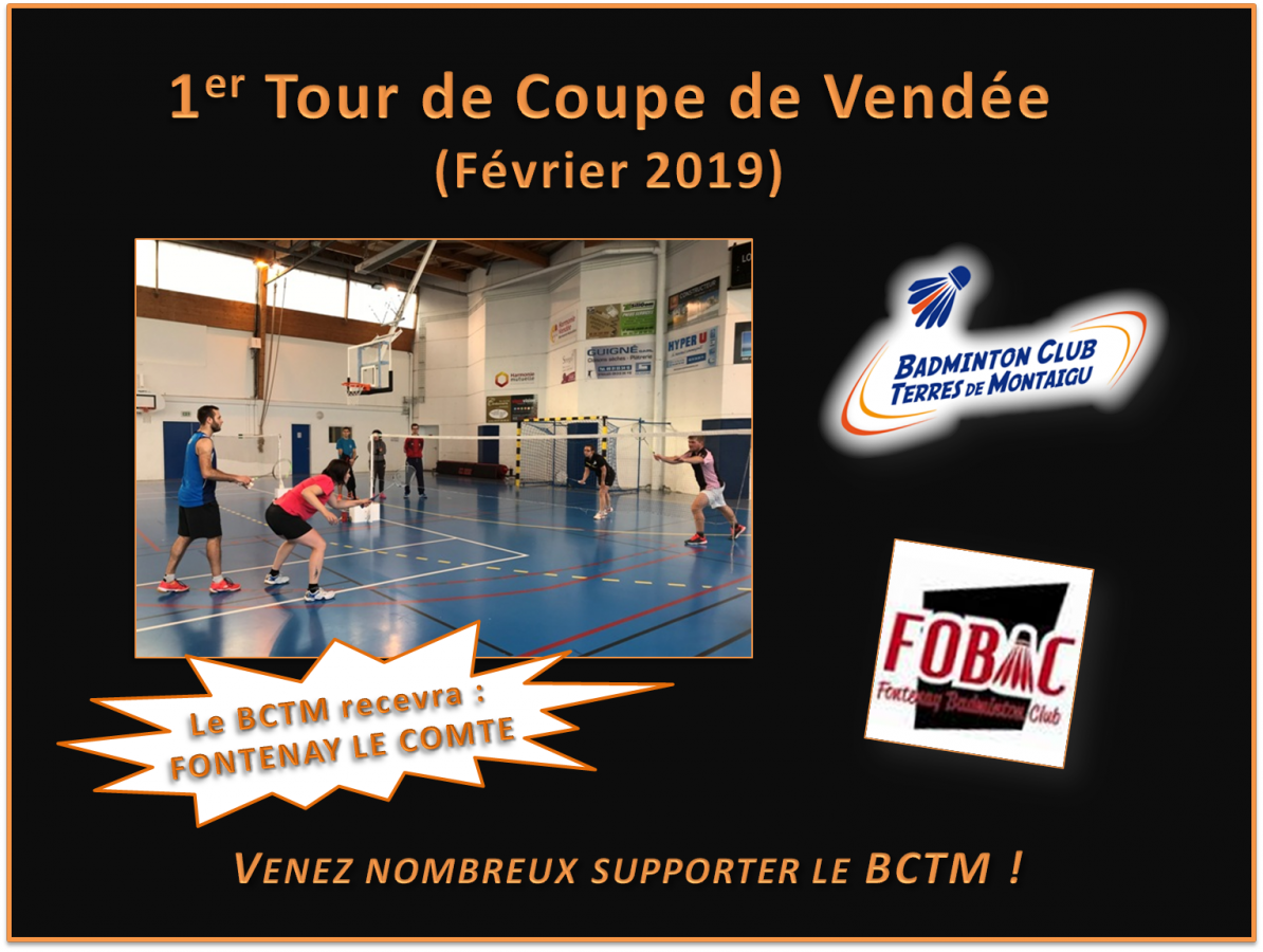 1er tour Coupe de Vendée