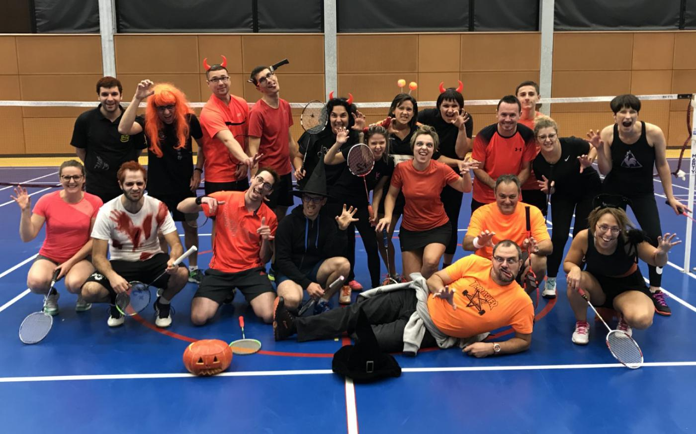 Photos et résultats Tournoi interne 2 Novembre (HALLOWEEN)