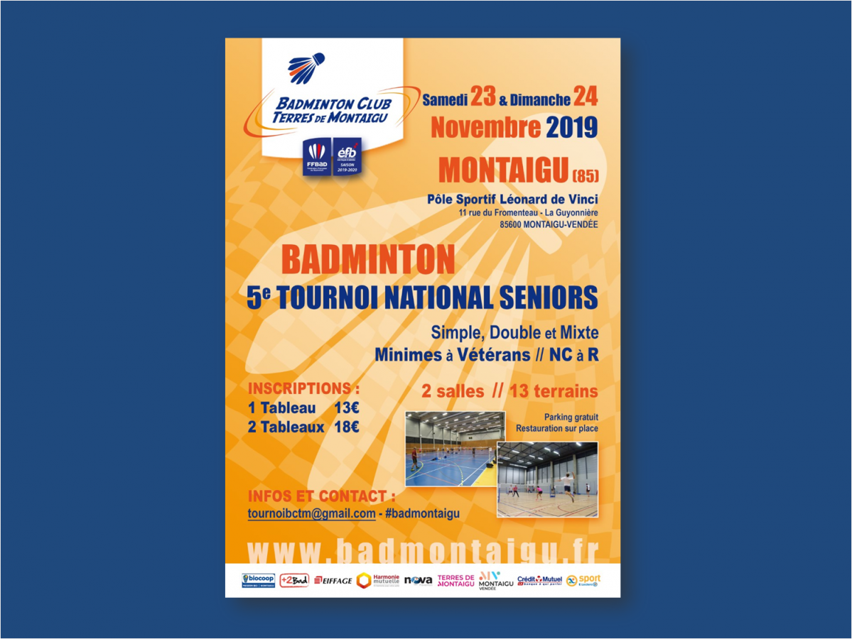 5e Tournoi National Séniors Montaigu