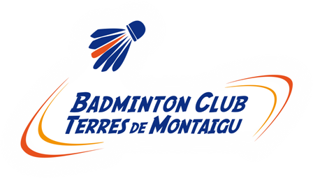 Logo Badminton Club Terres de Montaigu